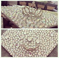 Princess tiara bling Graduation cap