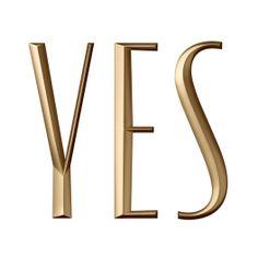 Yes logotype designed by Mama Studio.
