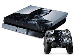 Designer Vinyl Skin Graphic Novel Comic Book Heroes Decals for PlayStation PS4 Console and 2 Free Controller Stickers (Nocturnal Cape Dark Hero 026) Donaldsons http://www.amazon.com/dp/B00PWEYEIS/ref=cm_sw_r_pi_dp_dgGGub00A5H8P