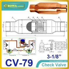 "160.55$  Watch here - http://ali86f.worldwells.pw/go.php?t=2024087805 - ""3-1/8"""" Check Valve suitable for use in the Liquid, Suction, Discharge or Hot Gas lines employing fluorinated refrigerants"" 160.55$"