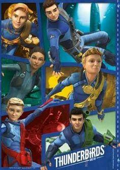 サンダーバード Are Go, Timeless Series, Thunderbirds Are Go, Puppets, Science Fiction, Tv Series, Sci Fi, Hero, Entertainment