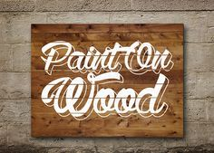 PaintOnWood-s