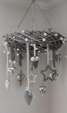 Christmas grey decoration | Ornaments