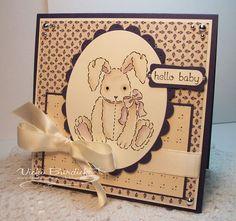 bunny baby card