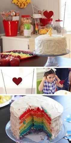 Wizard of Oz Rainbow Dorothy Girl Birthday Party Planning Ideas