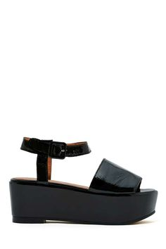 Jeffrey Campbell Lovell Flatforms. Ok, these are SO comfortable!