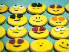 Emoji, Cookies, Desserts, Recipes, Food, Kids, Crack Crackers, Tailgate Desserts, Young Children