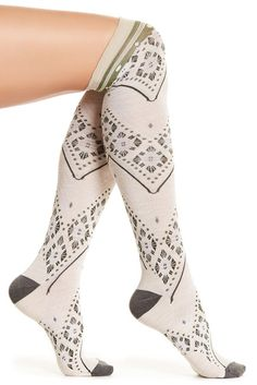 Image of SmartWool Lingering Lace Knee-High Socks