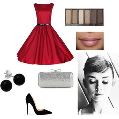 """Audrey Hepburn Look"" by charbear231 on Polyvore"