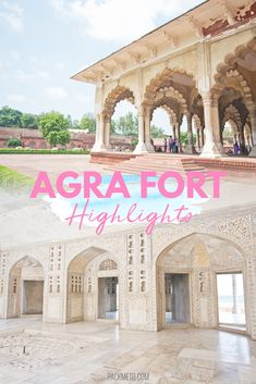 Highlights from inside the Agra Fort - a must see when visiting Agra, India. Be mesmerized by the fort's history of family, love and betrayal through the years. See the Taj Mahal in Agra, but be sure to check out the Agra Fort as well.