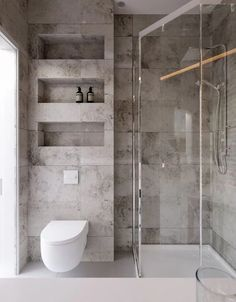 Architecture bathroom - Project Kiev, Lesi Ukrainki Ave , design of apartment, modern style, photo Bathroom Design Luxury, Modern Bathroom Design, Grey Bathrooms, Small Bathroom, Master Bathroom, Budget Bathroom, Bathroom Ideas, Organized Bathroom, Shower Cubicles