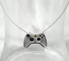 Gamer Girl Necklace....not gonna lie...i wants