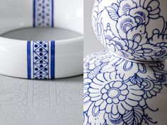 Royal Delft Takes Classic Porcelain to the Next Level Blue Pottery, Pottery Barn, Delft, Ceramics Projects, Ceramic Painting, Pottery Painting, Ceramic Design, Ginger Jars, Summer Of Love