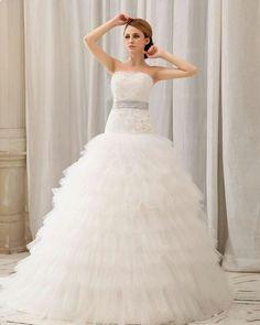 Gorgeous tulle wedding dress - My wedding ideas