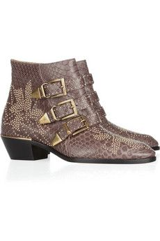 I have red in these booties... but pretty sure that grey is necessary too... #shoppingaddiction #Chloé