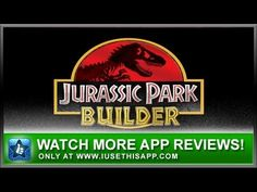 Jurassic Park Builder iPhone App - Game iPhone App - App Reviews #iphone #apps #appreviews #IUTA
