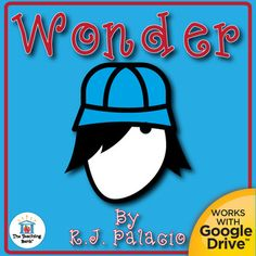 Wonder Novel Study is a Common Core Standard aligned book unit to be used with Wonder by R. J. Palacio. This download contains both a printable format as well as a Google Drive compatible format.This is a complete novel study that includes many individual products bundled together to offer you extensive savings!