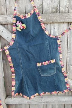 Upcycled Jean Apron