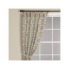 Mosaic Jute Curtain   World Market by worldmarket.com $35