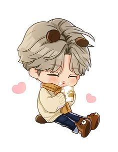 Exo Kokobop, Exo Kai, Chanyeol, Kyungsoo, Exo Stickers, Cute Stickers, Exo Anime, Cute Themes, Exo Fan Art