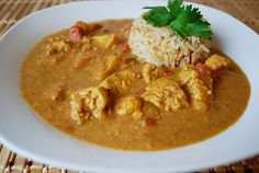 Chicken Coconut Korma... Could it be the same recipe as our favorite House of Bombayness? We'll let you know