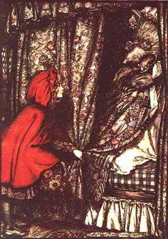 Rackham's Little Red Riding Hood.