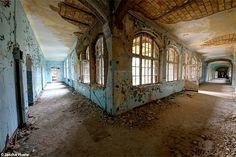 Beelitz Heilstatten a abandoned sanatorium in the former east Germany urbex decay www.lost-in-time-ue.nl