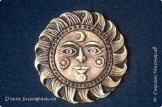 Crochet Lamp, Sun Moon Stars, Sun Art, Clay Figures, Salt Dough, Air Dry Clay, Pottery Art, Polymer Clay, Sculpture