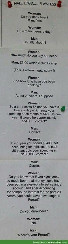 Male logic