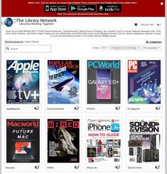 How to get free digital magazines from your library - CNET Library Work, App Store Google Play, Digital Magazine, Quotations, How To Get, Magazines, Reading, Free, Coffee Shop