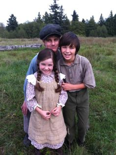 Gabe, Miles and Emily Montgomery