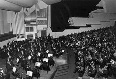 Helsingin kaupunginorkesterin konsertti Finlandia-talossa 1970-luvulla. Kuva: Helsingin kaupunginmuseo/Erkki Haapaniemi.