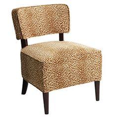 pier 1 cheetah chair