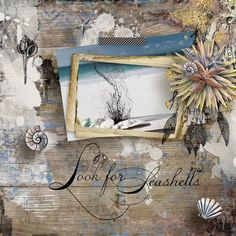 layout using Value Pack: Sea Sun Sand by florju designs