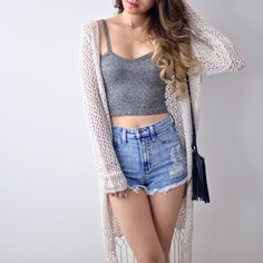 Chiara Crop Top - Pepper – MANGO RABBIT Visit http://www.fashioncraycray.xyz/ for beautiful clothes right now.