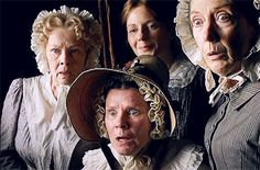 Cranford. Their expressions pretty much sum up it up...their personalities in particular.