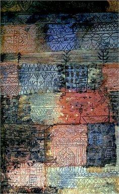 Paul Klee.                                                                                                                                                     More