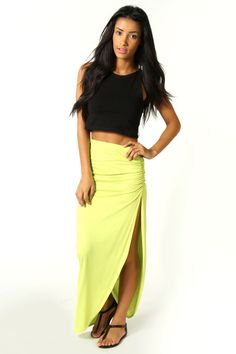 Michelle Viscose Maxi Skirt