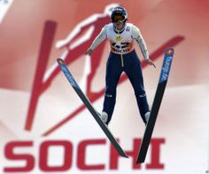 Sochi Olympic Ski Jumping, Awesome-this is also strength training