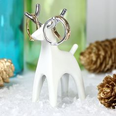 reindeer ring holder