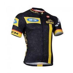 Summer Mens Sportwear Cycling Racing Jersey Bike Bicycle Short Sleeve Shirt Tops Regular Full Zipper Race Fit Men Black Polyester China