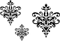 Lace Icons   Designer Stencils