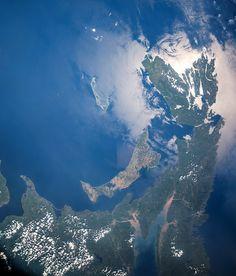 Prince Edward Island, Canada by Cosmonaut Oleg Germanovich Artemyev (From the ISS)