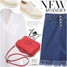 Casual by pokadoll on Polyvore featuring polyvore, fashion, style, clothing, polyvoreeditorial, polyvorefashion, polyvoreset and zaful
