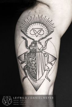 Beetle Leitbild Daniel Meyer tattoo