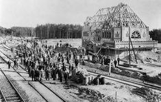 Berlin 1901 Erbauung des Bahnhofs Nikolasee