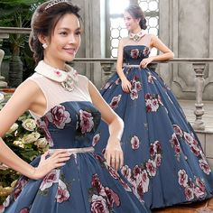 100% real flower printing beading peterpan medieval dress ball gown princess Medieval Renaissance Gown Victoria Belle ball gown
