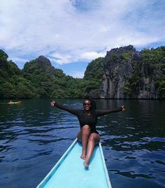 At the big Lagoon - Breathtaking view.. If you are travelling here. Please make sure You take Trip A and C for Island hopping  #ElNido #Palawan