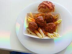 Mostaccioli & Meatballs Marinara at Uptown Grill.  #Norwegian Breakaway