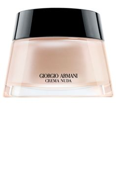 WHAT IT IS: Giorgio Armani Beauty Crema Nuda WHY WE LOVE IT: Imagine if the most luxurious night cream you'd ever tried was tinted, loaded with tons of intense moisturizers, but somehow light enough to wear all day long. That's what's contained in this pretty pink lacquered pot. Opaque enough to camouflage dark marks but sheer enough to look like you're nothing at all—in a good way. Giorgio Armani tinted moisturizer, $200, giorgioarmanibeauty-usa.com.